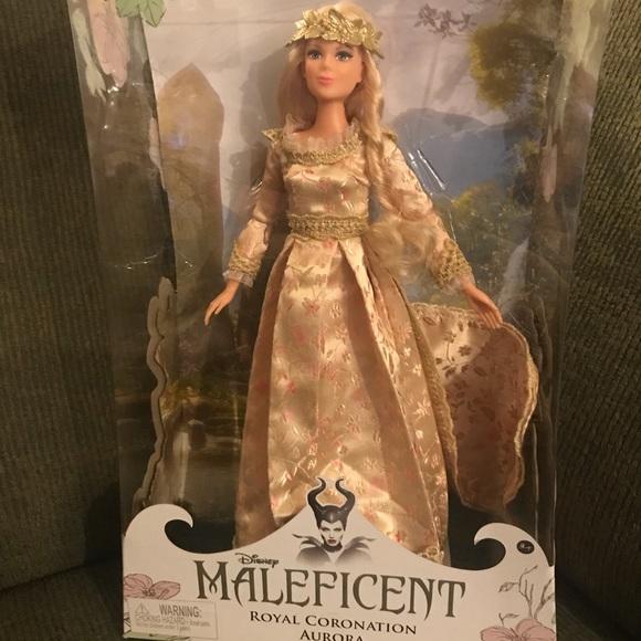 Disney Maleficent Aurora Royal Coronation Doll Nwt